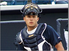 Jesus Montero Yankees catcher