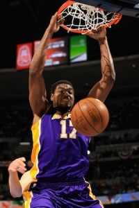Los Angeles Lakers Andrew Bynum 2