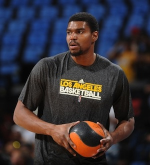 Los Angeles Lakers Center, Andrew Bynum